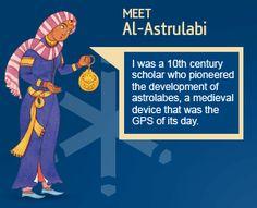 http://www.1001inventions.com/Market_Zone  Al-Astrulabi a Musleem's Scholar