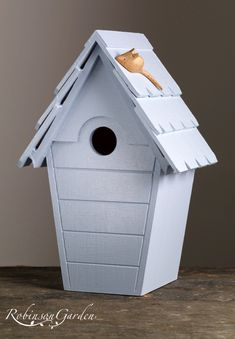 A bespoke and handcrafted nestbox bird box, perfect home for small wild birds in your garden finished using Farrow & Ball, uniquely handcrafted wooden roof Farrow And Ball Paint, Farrow Ball, Perfect Image, Perfect Photo, Love Photos, Cool Pictures, Small Garden Birds, Eggshell Paint, Wooden Bird Houses