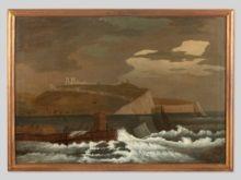 England, wohl 18. Jahrhundert,Blick auf Dover ,  1.200.00 Euro .