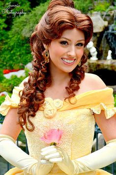I'm gonna be a character at Disney one day I hope belle! Or Ariel or Cinderella or maybe tinkerbell
