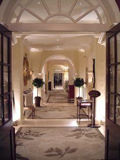 Chewton Glen Hotel lighting by Lighting Design International.