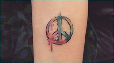 26 Cool Peace Sign Tattoo Meaning and Ideas