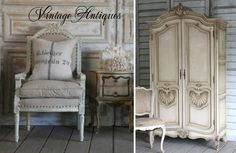 Shabby Chic Furniture and Accessories - Bella Notte Linens - French Country Furniture - Slipcovered Furniture - Cottage Haven Interiors