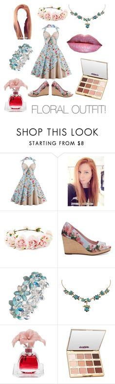 """Contest #4!"" by ruza-steampunk ❤ liked on Polyvore featuring Forever 21, TOMS, Anne Klein, Michal Negrin, Too Faced Cosmetics, Agraria and tarte"