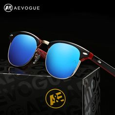 Now available on our store AEVOGUE Polarized...  Find it here  http://www.yabizy.com/products/aevogue-polarized-sunglasses-men-retro-rivet-high-quality-polaroid-lens-summer-style-brand-design-unisex-sun-glasses-ce-ae0369-1 ......Free shipping worldwide.