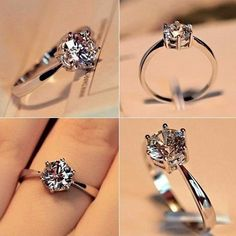 With your special day inching close, it is time you pick one of the best solitaire diamond rings ever. Check out some of the finest ideas here. Other Accessories, Women Accessories, Fashion Accessories, Fashion Jewelry, Diamond Solitaire Rings, Fashion Books, Wedding Rings, Engagement Rings, Crystals