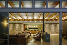 gallery of drew' residential projects Contemporary Architecture, Modern Contemporary, Modern Lodge, Architects, Concrete, Table, Furniture, Home Decor, Decoration Home
