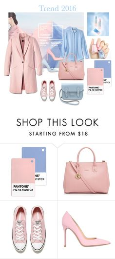 """""""Pantone 2016"""" by ulusia-1 ❤ liked on Polyvore featuring Furla, Converse, Gianvito Rossi, Dee Keller, women's clothing, women's fashion, women, female, woman and misses"""