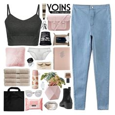 """☾ yoins 22"" by thundxrstorms ❤ liked on Polyvore featuring RGB, SALUA, Korres, The Cambridge Satchel Company, Aesop, shu uemura, JAG Zoeppritz, NARS Cosmetics, Christy and Nila Anthony"