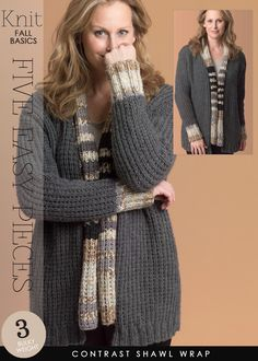 5 easy cardigans for fall - free patterns - DiaryofaCreativeFanatic