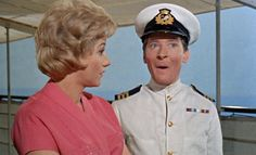 Liz Fraser and Kenneth Williams. Carry On Cruising. 1962