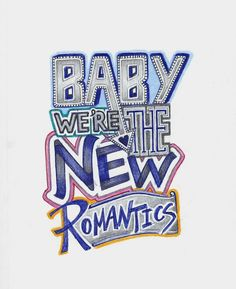 "New lyric drawing for ""New Romantics"" by Taylor Swift. I love the sound, the beat, the lyrics #ItsAllCool"