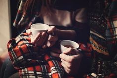 coffee and flannel
