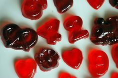 Homemade gummy candies - I'm sure my girls would love to try making these.