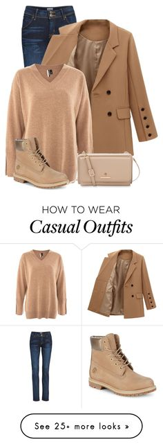 """""""Unbenannt #107"""" by raushan-willms on Polyvore featuring Hudson Jeans, Topshop, Timberland and Spartina 449"""