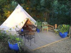 Romantic Tent Gl&ing Getaway - Tents for Rent in Asheville North Carolina United States & 10 luxurious campervans motorhomes and glamping tents to rival ...