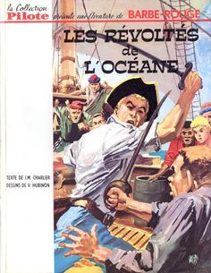 Cover for Barbe-Rouge (Dargaud éditions, 1961 series) #5 - Les révoltés de l'Océane