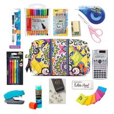"""""""What's in my Pencil Case No.1 2015"""" by kathmowery ❤ liked on Polyvore"""