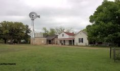 """The Sauer-Beckmann Living History Farm provides an authentic """"off the grid"""" experience of what pioneering life at the turn of the century was really like. Texas Vacations, Texas Hill Country, Texas Travel, Mansions, History, House Styles, Texas, Historia, Manor Houses"""