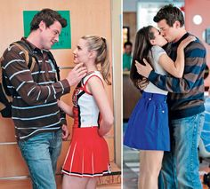 Glee: Finn and Quinn vs. Finn and Rachel