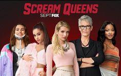 Scream Queens - Season 2 - Emma Roberts, Jamie Lee Curtis, Lea Michele & More to Return #screamqueens