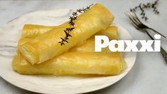 Μπουρεκάκια με μυζήθρα  - Paxxi 1min C87 Dessert Recipes, Desserts, Hot Dog Buns, Carrots, Pineapple, Easy Meals, Sweets, Bread, Cheese