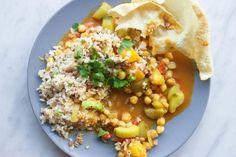 O wat een heerlijke kikkererwten curry! Dankjewel Sanne van livingthegreenlife voor dit fijne receptje. Met al die kruiden krijg ik gelijk honger!