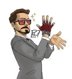 "He's even dangerous in a nice Tom Ford suit. ""Iron Watch"" by pencilHeadno7.deviantart.com on @DeviantArt"