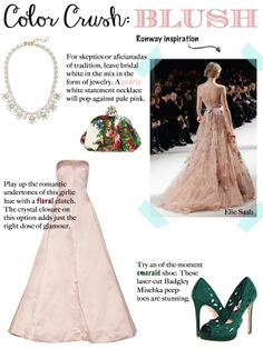 Pretty in Pink - Hue of the Moment: Blush
