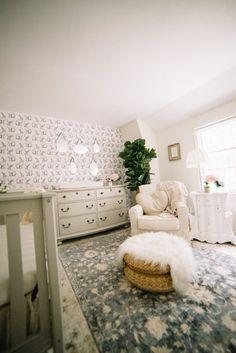 Vintage Folklore Nursery - Little Girl Bedroom, Girl Nursery, Girls Bedroom, Nursery Decor, Room Decor, Nursery Ideas, Babies Nursery, Kid Bedrooms, Girl Rooms, Childs Bedroom