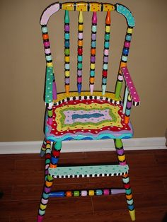 Painted Wooden Chairs love the details | painted furniture | pinterest | painted chairs
