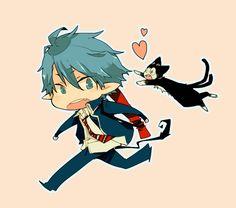Rin and Kuro. X3