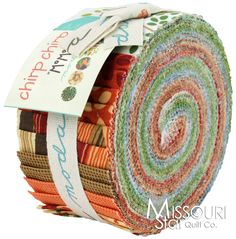 Chirp Chirp Jelly Roll from Missouri Star Quilt Co