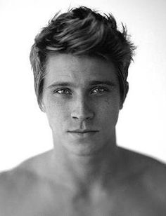 Garrett Hedlund. If his looks aren't enough, watch Country Strong. His voice is beautiful.