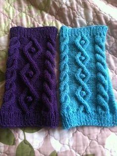 縄編みの犬セーターの作り方