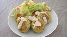 thescottishtomato: Falafel con salsa tahina