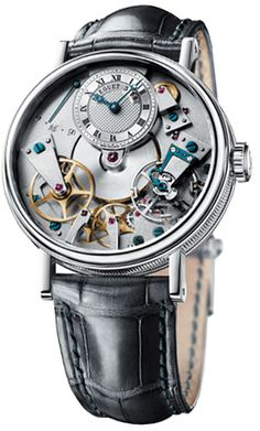 Breguet Tradition Automatic Skeleton Dial 18 kt White Gold Mens Watch 7027BB119V6 22k