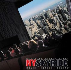 New York Attractions & Tour | NY SKYRIDE & Empire State Building - not a very high rated attraction... hmm...