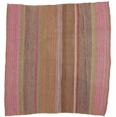 Peruvian Frazada Chunka Tres as bathroom rugs