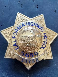 Law Enforcement Badges, California Highway Patrol, Police Badges, State Police, One Back, Cops, Patches, Apple, Personalized Items