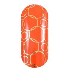 KOOKY Bubble Orange & Gold Wraps