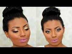 Maquiagem Noiva pele negra | Semi cut crease – Por Camila Nunes