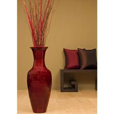 Large Decorative Vases And Urns Tuscan Decor Vases Medrano Floor Vase Set  Our New House