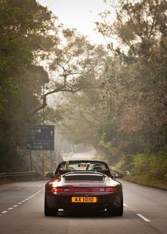 Porsche 993: Drive the open roads