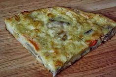 CAIETUL CU RETETE: Pizza rapida Pizza Lasagna, Romanian Food, Quick Meals, Quiche, Foodies, Bacon, Good Food, Food And Drink, Cooking Recipes