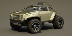 Hummer concept... looks cool.