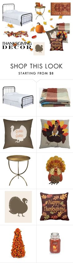 """""""Give Thanks"""" by paigekayleeblog ❤ liked on Polyvore featuring interior, interiors, interior design, home, home decor, interior decorating, Toast, Surya, Improvements and Nearly Natural"""