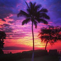 Sunset view - The Westin Ka'anapali Ocean Resort Villas #mySVNvacation #sunset