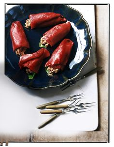 Get the recipe: Piquillo Peppers with Mediterranean Tuna Salad