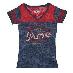 #Patriots Ladies Touch Coop II Top-Navy